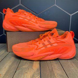 Adidas Crazy BYW x 2020 Orange Basketball Sz 13.5